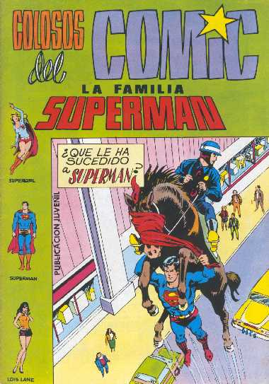 COLOSOS DEL COMIC. LA FAMILIA SUPERMAN 12